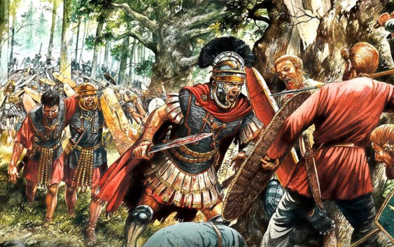 La oficialidad en las legiones romanas